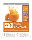 Juicy orange Flyer Templates