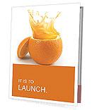 Juicy orange Presentation Folder