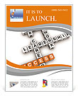 Crosswords success Flyer Template