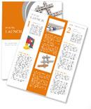 Crosswords success Newsletter Template