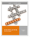 Crosswords success Word Template