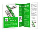 Crossword business Brochure Templates
