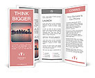 A beautiful view of the bridge and the city Brochure Template