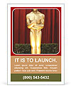 Oscar Award Ad Template
