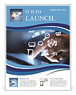 Technologies in touch with your finger Flyer Template