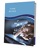 Technologies in touch with your finger Presentation Folder