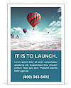 Balloons extraordinary journey Ad Templates