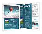 Balloons extraordinary journey Brochure Templates