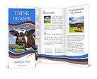 Cows in a meadow Brochure Templates