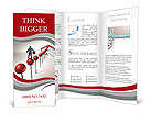 The road to success is not easy Brochure Templates