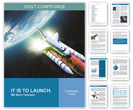 space shuttle powerpoint template - photo #45