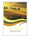 Sunset in Tuscany Ad Templates