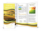 Sunset in Tuscany Brochure Templates