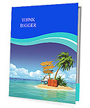 Ocean island voucher bags Presentation Folder
