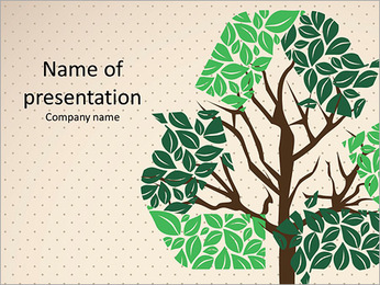 Preserve the nature preserve planet Ecology PowerPoint Template