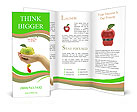 Dietary food apple Brochure Template