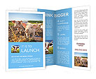 Little Pig Farm Brochure Templates