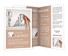 Hand drawing graphics and risks Brochure Template
