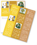 Preserve the nature of nature draws people together Newsletter Template