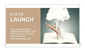 Save the trees Business Card Template