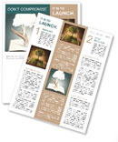 Save the trees Newsletter Template