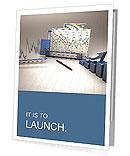 Business finance chart Presentation Folder