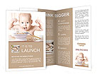 Happy baby Brochure Templates