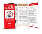 Happy home concept Brochure Templates