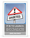 Diabetes is dangerous Ad Template