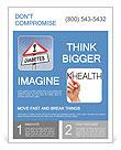 Diabetes is dangerous Flyer Template