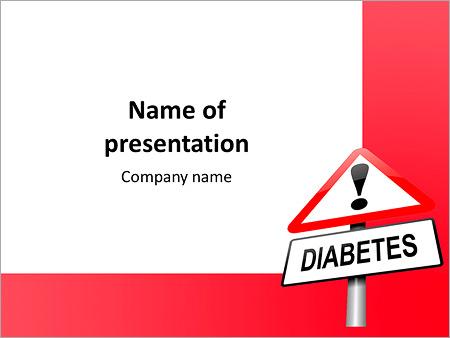 Diabetes is dangerous powerpoint template backgrounds google diabetes is dangerous powerpoint template toneelgroepblik Images
