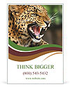 Anger Leopard Ad Template