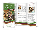 Anger Leopard Brochure Template