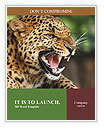 Anger Leopard Word Templates