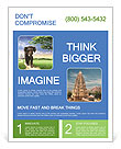 The objection to the nature of the elephant Flyer Template
