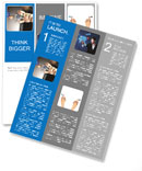 Hand exciting information Newsletter Template