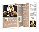 Businessman and its capital Brochure Templates