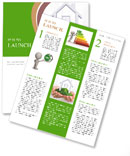 Green flooring in the house Newsletter Template