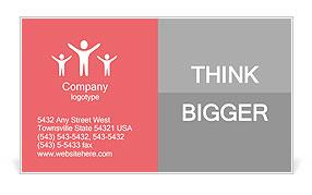 Severe headache image Business Card Template