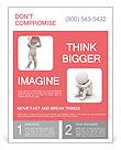 Severe headache image Flyer Template