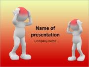 Imagem Forte dor de cabeça Modelos de apresentações PowerPoint