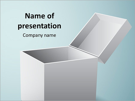 The Open Box PowerPoint Template