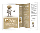 The image of the human brain Brochure Templates