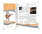 The image of a musician with a guitar Brochure Templates