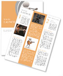 The image of a musician with a guitar Newsletter Templates