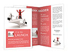 The image of the career ladder Brochure Templates