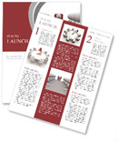 The meeting with the head of the office Newsletter Template