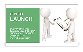Inspection rights Business Card Templates