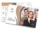 Business team Postcard Template