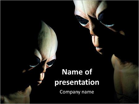 Horror powerpoint template smiletemplates alien ufo on a black background powerpoint templates toneelgroepblik Gallery